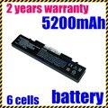 Jigu rv513 nueva batería del ordenador portátil para samsung aa-pl9nc6w aa-pl9nc2b r430 de batería del portátil 5200 mah blanco y negro