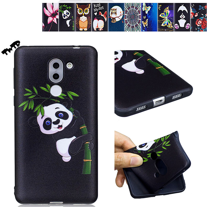 3D Soft Silicone for Huawei <font><b>GR</b></font> <font><b>5</b></font> <font><b>2017</b></font> BLL L23 L21 Case for Huawei GR5 <font><b>2017</b></font> BLL-L21 BLL-L23 Phone Fitted Case TPU Frame Cover image