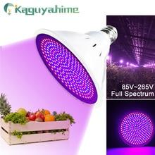 Kaguyahime Growth/Warm/Cold 3W~15W E27 LED Grow Light Plant Light Full Spectrum 85-265V/220V For Plant Growing Lamp IR UV