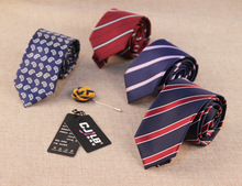 7cm necktie tie for men neckwear striped ties shirt accessories man neckties 20 pcs/lot