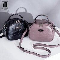 Модные бизнес леди плеча для женщин сумки Дизайнер крокодил тенденция моды леди ремешок женские сумочки