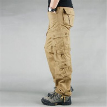 Fashion Military Style Men's Cargo Pants Casual Multi Pocket
