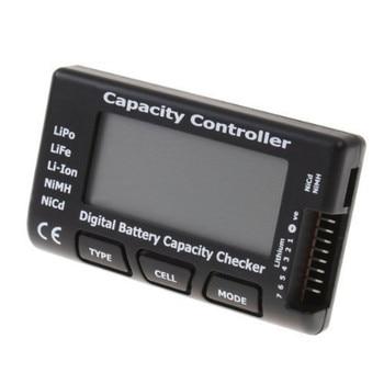 RC CellMeter-7 Digitale Batterie Kapazität Checker LiPo LiFe Li-Ion Nicd NiMH Batterie Spannung Tester Überprüfung CellMeter7