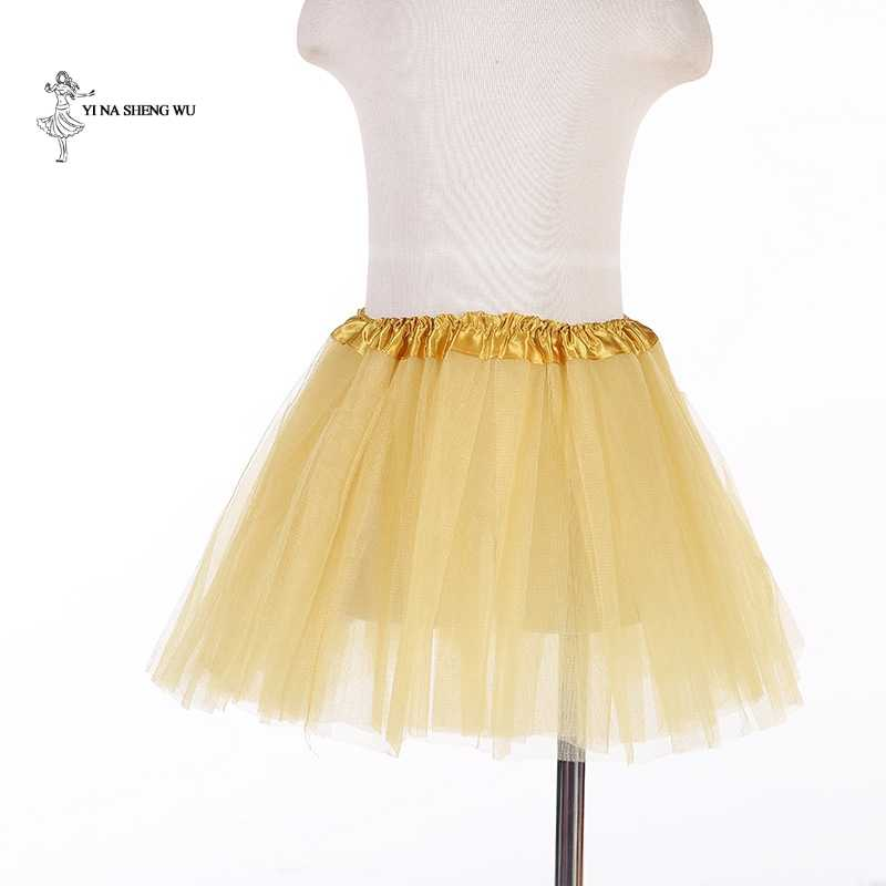เด็กใหม่ชุดบัลเล่ต์ชุดเต้นรำแจ๊สตาข่าย tutu กระโปรงเสื้อผ้าเต้นรำทีมสวมใส่สำหรับเด็ก