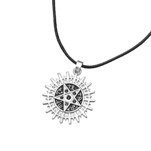 BLACK BUTLER Sebastian's Pentacle Pentagram Symbol Logo Pendant NECKLACE Devil Satan