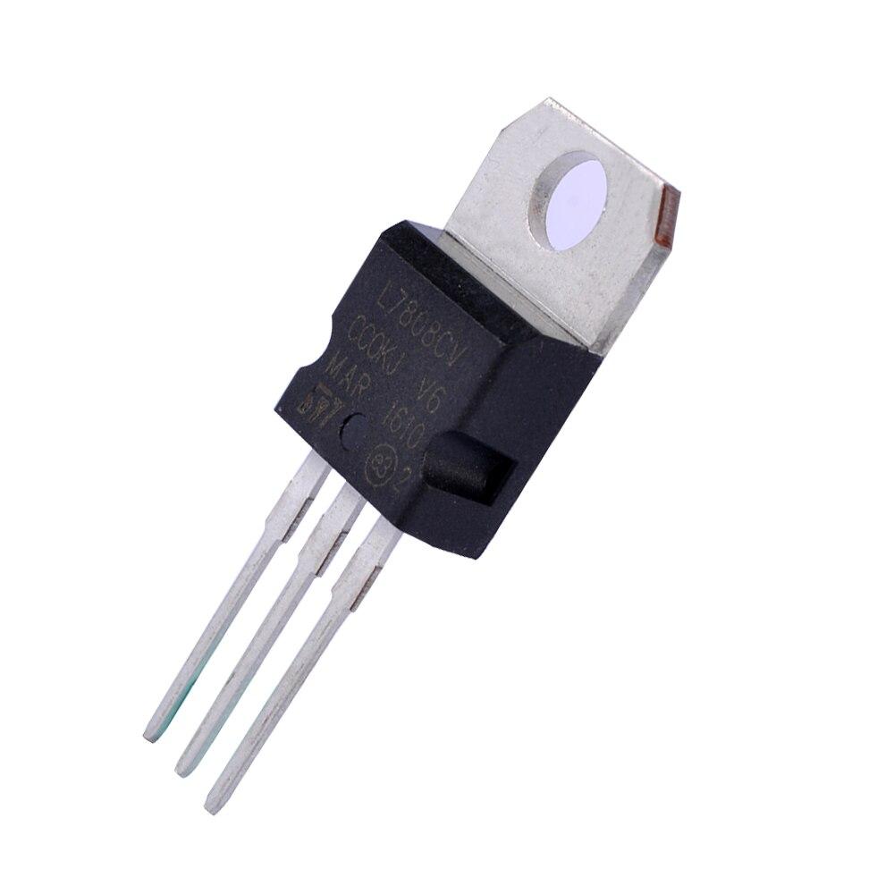 Pack of 2 Voltage Regulator L7915CV L7915-15V 7915