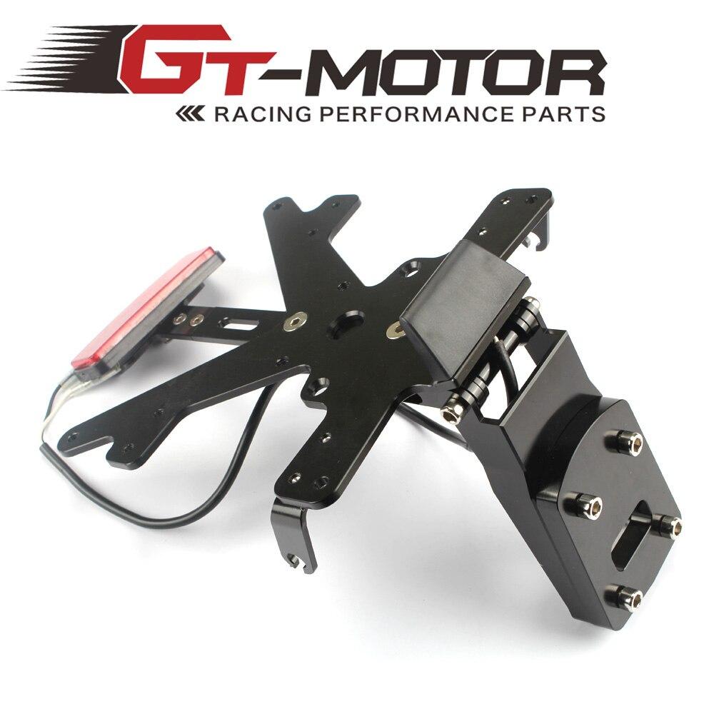ФОТО GT Motor - TAIL TIDY LICENSE PLATE FOR KAWASAKI Z1000 2014-2016