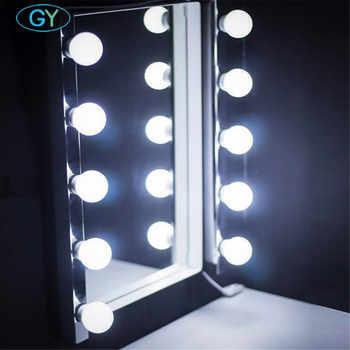 10pcs Set Makeup Mirror Light Vanity Mirror Light Bulbs