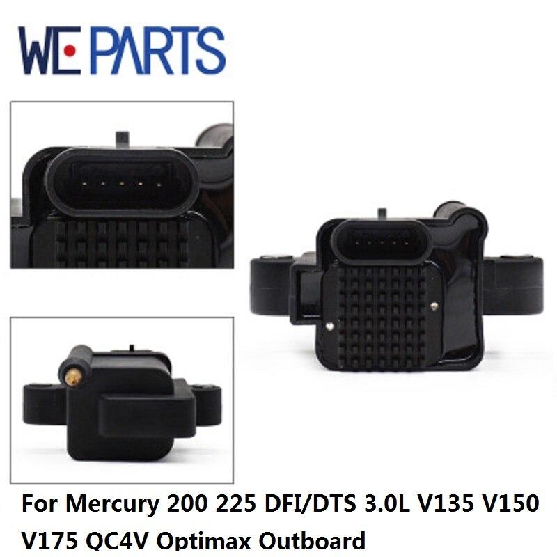 Bobine d'allumage de voiture WEPARTS 339-8M0077473 pour Mercury 200 225 DFI/DTS 3.0L V135 V150 V175 QC4V Optimax hors-bord 339-883778A02