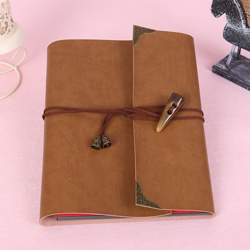 High Quality PU Leather Loose-leaf Notebook Travel Notepad 30 Sheets Paper Birthday Photo Albums Book Diary цена и фото
