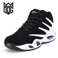 Dqg дешевые Баскетбольные кеды Для мужчин Training Спортивная обувь Кружево до корзины Homme Аутентичные Спорт Zapatillas antislip Baloncesto basquet