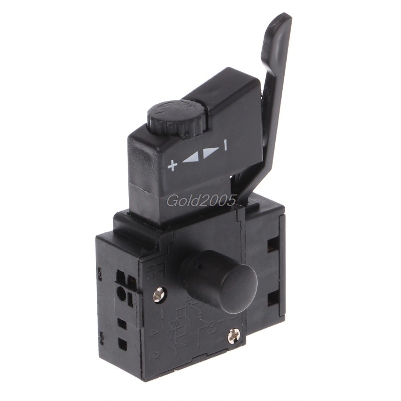 цена на FA2-6/1BEK Lock on Power Tool Electric Drill Speed Control Trigger Button Switch G07 Drop ship