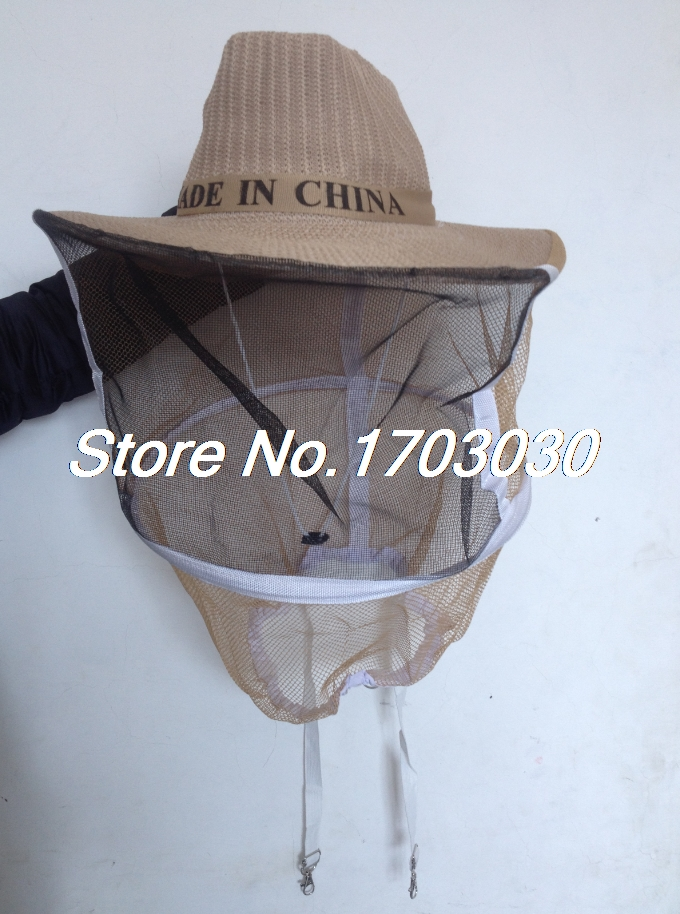 Mosquito Fly Bee Keeping Insect Fishing Mesh Mask Net Cowboy Hat Face Protector wool felt cowboy hat stetson black 50cm