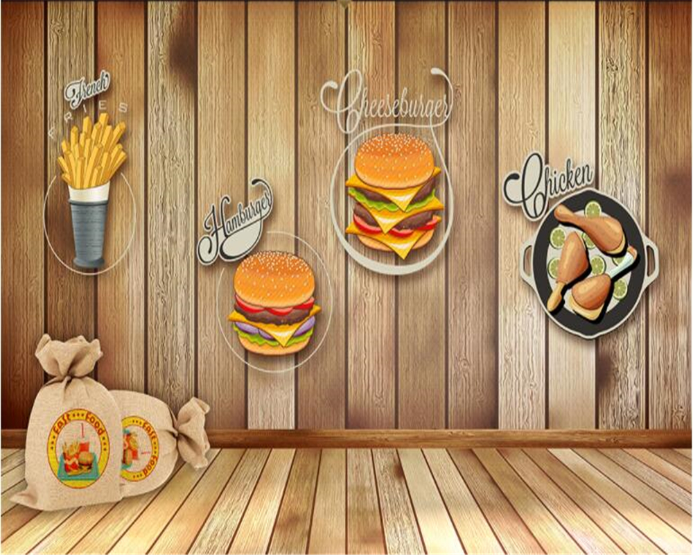 Beibehang Advanced Fashion Decorative 3d Wallpaper Space Suitable For Hotel Fast Food Background