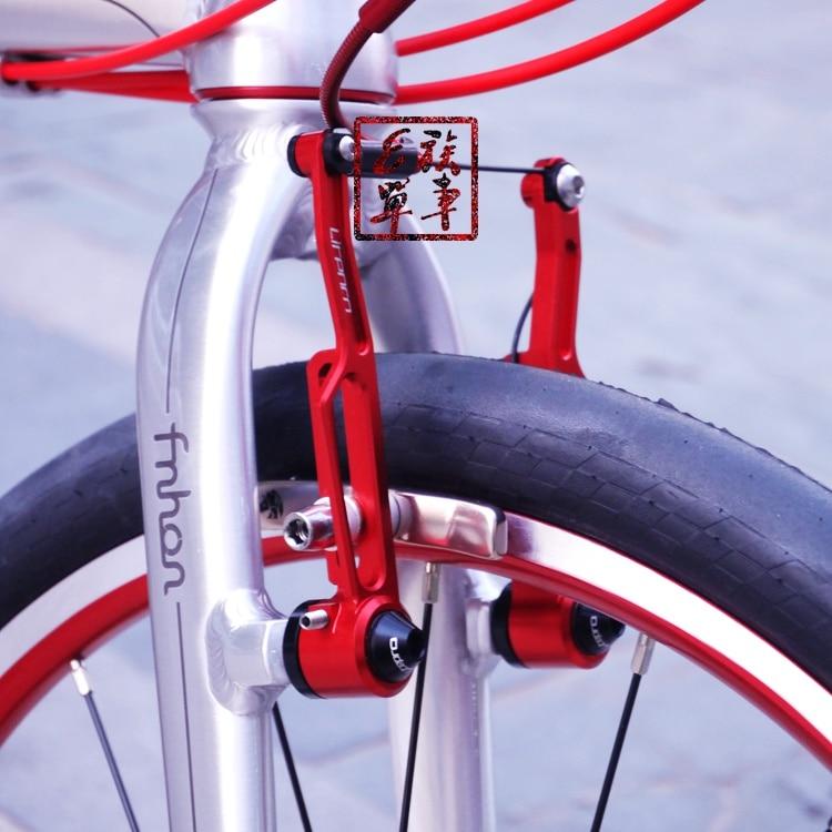 Litepro BMX folding bike Ultralight V brake clamp long//short arm CNC 4 Colors