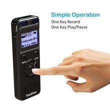 Vandlion 8GB dyktafon pamięć usb dźwięk cyfrowy profesjonalna obsługa aktywowana głosem karta pamięci 32GB nagrywanie dyktafon