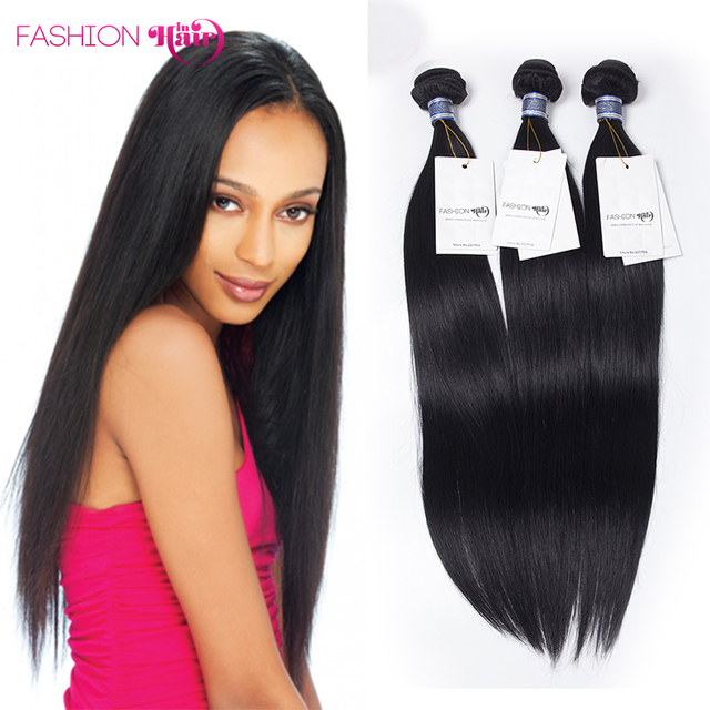 Virgin Hair Straight Alibarbara Hair Jet Black Malaysian Straight