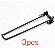 3Pieces/Lot H:430MM  Metal Folding Table Legs Hairpins Laptop Notebook Desk Support Bracket Foots