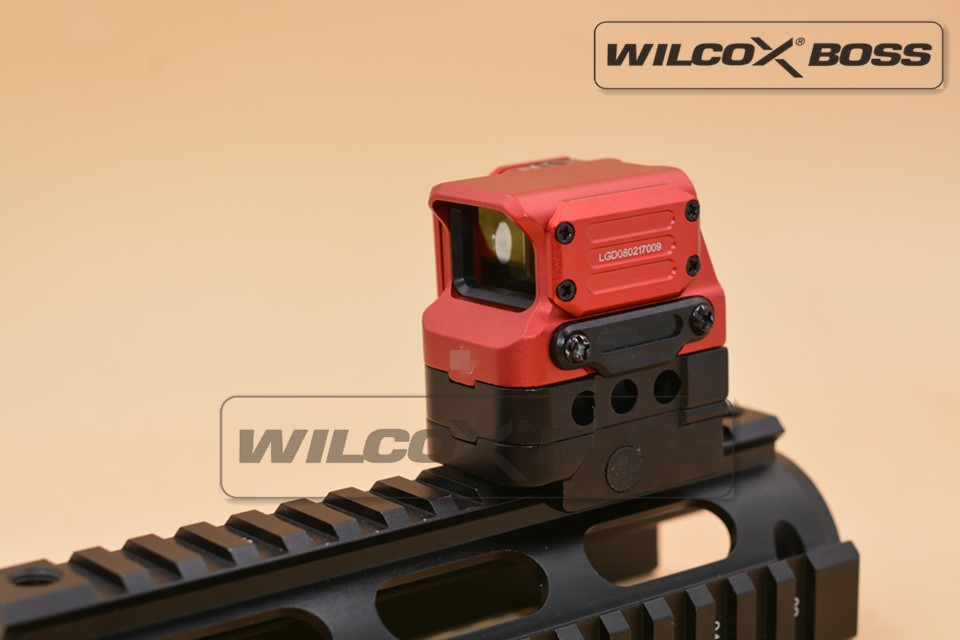 DI Optical FC1 Red Dot Sight Reflex Sight Holographic Sight for 20mm Rail Red
