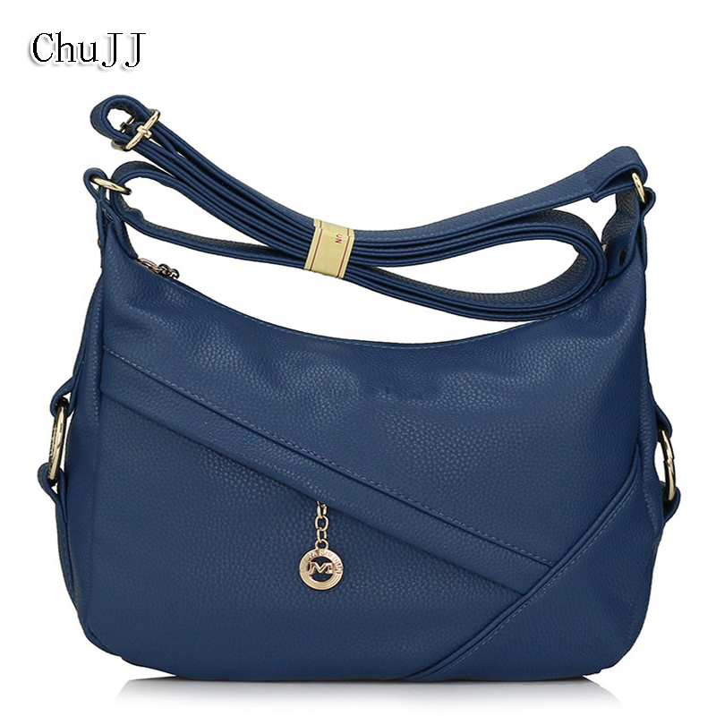 Chu JJ Women's Genuine Leather Handbags Fashion Patchwork Luxury Handbags Women Bags Women Messenger Bags Ladies Shoulder Bag 2017 new female genuine leather handbags first layer of cowhide fashion simple women shoulder messenger bags bucket bags