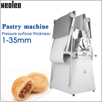XEOLEO Commercial Pastry machine Dough Crisping machine Dough pressing roll machine Pastry Sheeter for Bakery Equipment 220/380V