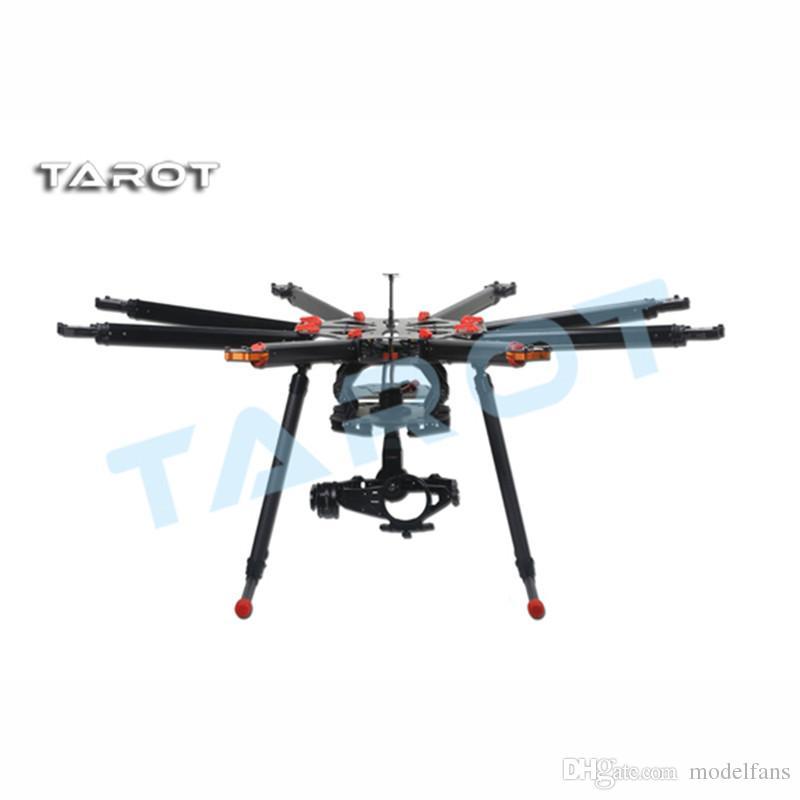 Aerops Tarot X8 8 Aixs 1050mm parapluie Type pliable Multicopter aéronef sans pilote (UAV) Octocopter Drone TL8X000 avec train d'atterrissage rétractable