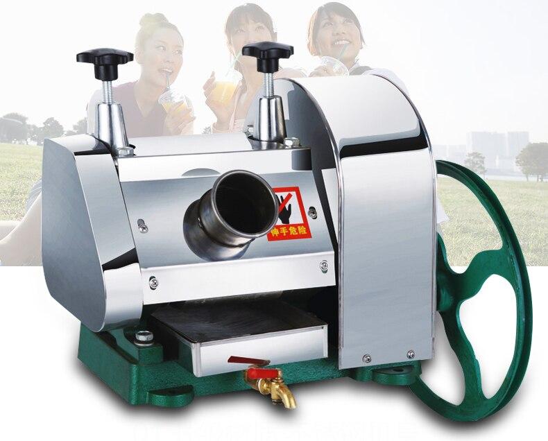 LC SY01 desktop aço inoxidável Hand held máquina de cana de açúcar, cana espremedor de suco, triturador de cana, espremedor de cana 1pc