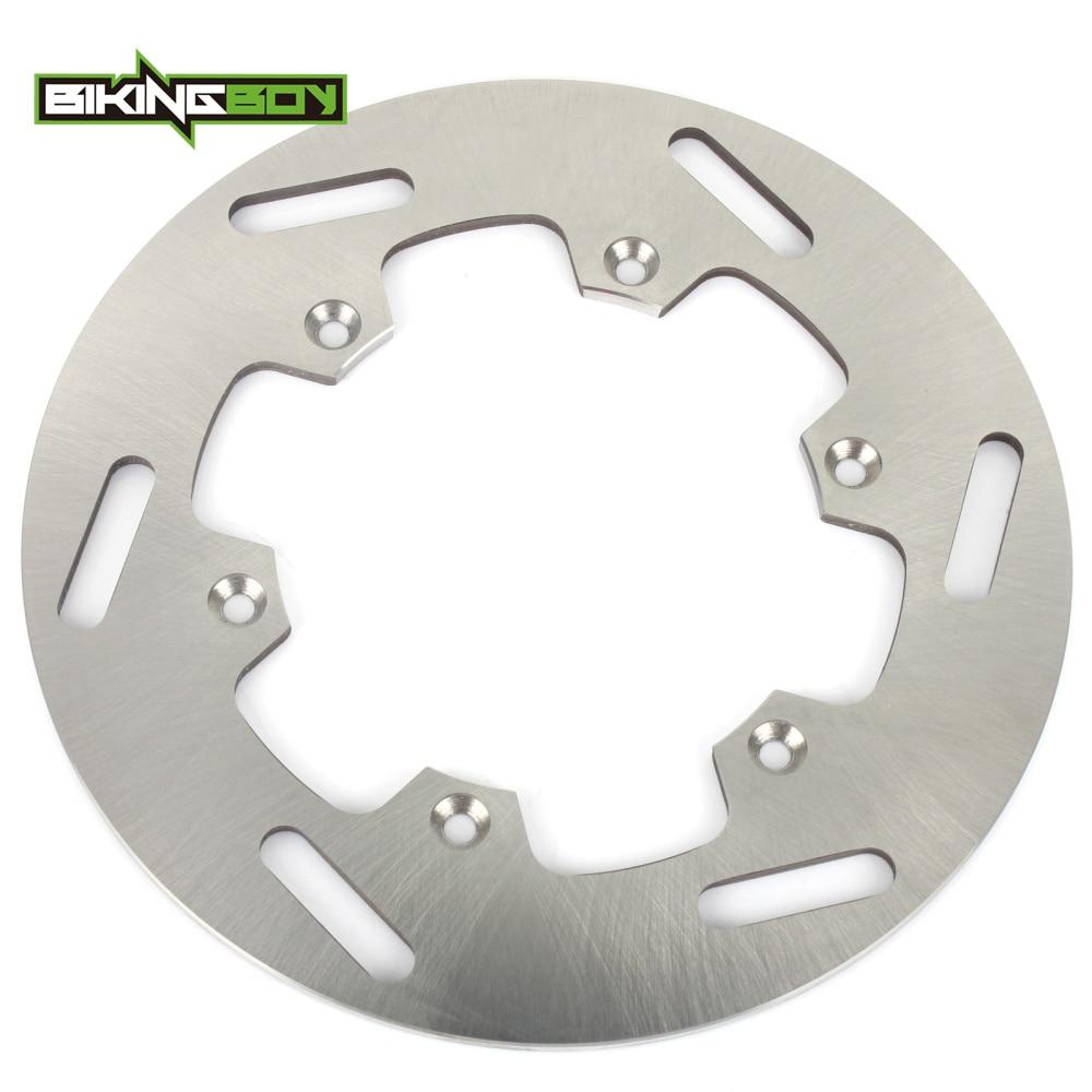 BIKINGBOY MX Offroad Motocross Rear Brake Disc Rotor Wave Set For Yamaha YZ 360 89 90 91 92 93 TT 600 Acier 93-95 TT 600 R 87-04