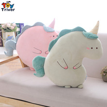 купить Hot Ins Plush Unicorn Horse Toy Stuffed Animals Doll Unicorns Pillow Cushion Baby Kids Children Home Decor Birthday Gift Triver дешево