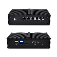 Kimo K355 Router RouterOS Mini PC Pfsense 4 Gigabit Micro PC Compute Core I5 5250U AES