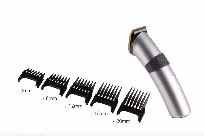 Electric 2 speed Hair Clipper Rechargeable Hair Trimmer Cordless Adjustable Clipper With Charge Stand and 4 Guide Comb3