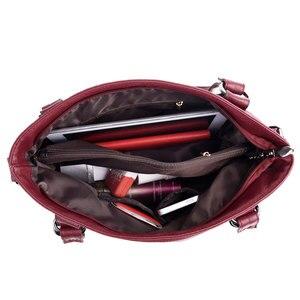 Image 5 - Delle donne DELLUNITÀ di elaborazione Borse di Cuoio Del Progettista Morbido Borse A Spalla Per Le Donne borse a Tracolla Borse Crossbody BagsTop maniglia Borse Bolsa 3098