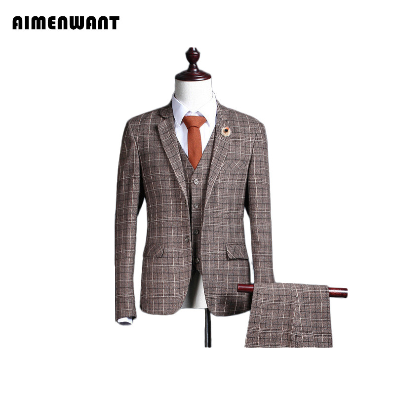 Online Get Cheap Mens Brown Blazers -Aliexpress.com | Alibaba Group