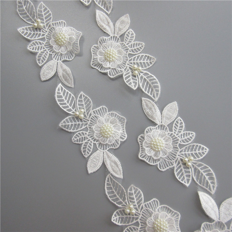 9675014e78 top 8 most popular beaded trim applique leaves ideas and get free ...