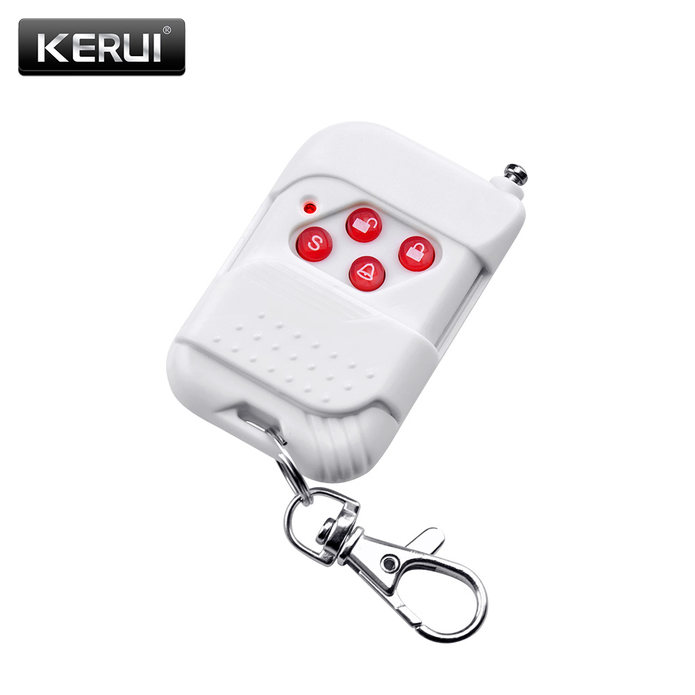 KR RC527 Smart Remote Control Controller Remote Control Keyfobs Kit 433mhz For Kerui Smart Home Alarm