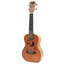 TSAI Professional 23 Inch Ukulele Uke Hawaii Acoustic Guitar Sapele 15/17 Fret Wood Ukulele Musical Instruments For Great Gift