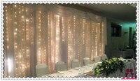 Свадьба фоне украшения 3x6 м фон шторы с swag для свадьбы