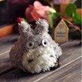 8 cm llavero muñeca de juguete Kawaii mi vecino Totoro juguete relleno felpa muñeca de juguete colgante del bolso de la boda de juguete muñeca ramo