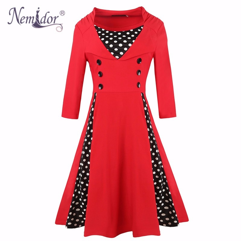 Plus size vintage dress (3)