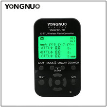 YONGNUO YN-622C-TX YN622C-TX Wireless TTL Flash Controller Transmitter with LCD Display for Canon 1Dx 1Ds III 1D IV 1D IIII 5DII audison ap 1d