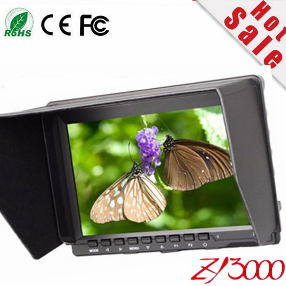 Feelworld 10.1'' 16:10 HSD Pro-Broadcast HD HDMI SDI High Resolution Field Monitor Peaking Filter 5D II Camera Mode for BMCC