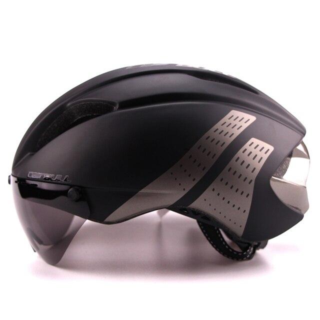 3 lente 280g aero óculos de proteção capacete de bicicleta de estrada esportes segurança in-mold capacete equitação dos homens velocidade airo tempo-julgamento ciclismo capacete 3