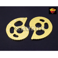 Motorcycle Accessories CNC Aluminum Chain Adjuster With Scale For SUZUKI DR200SE 99 13 DR250 Djebel 92