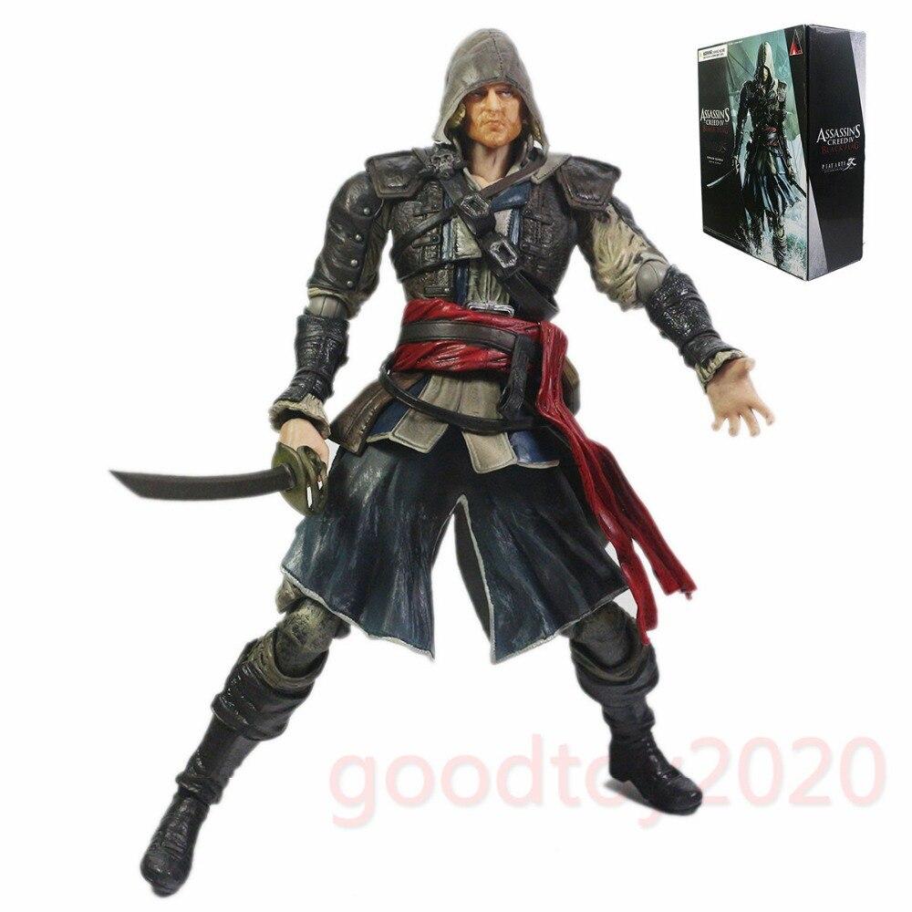 Assassin's Creed IV Black Flag Play Arts Kai Edward Kenway Action Figure PAK001030