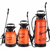 3 5LTrigger Pressure Sprayer Compressed Air Spray Garden Sprayer Pump Hand Pressure Watering Spray Garden Irrigation