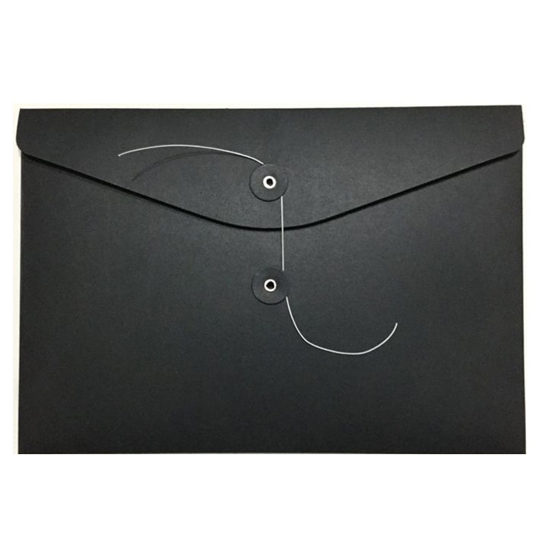120pcs Blank A4 Thick Kraft Paper Envelope Vertical Documents Bags Horizontal File Envelope Gift Packaging Bags