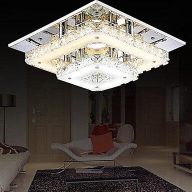 Crystal Lamp Modern LED Ceiling Lights For Living Room Home Lighting Fixture, Lustres De Sala Teto Luminarias Para Sala