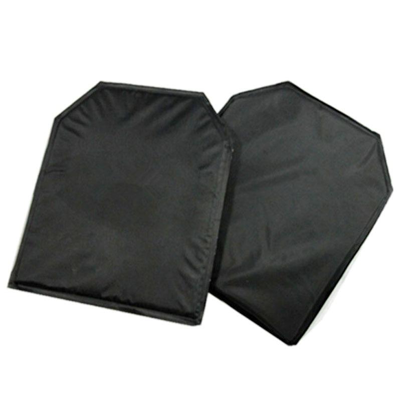 2pcs/lot NIJ Level IIIA Shooter Cut Soft Aramid Ballistic Panel For JPC Tactical Vest & School Bulletproof Backpack