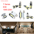 18pcs LED Canbus Interior Lights Kit Package For BMW 7 Series E38 (1995-2001)