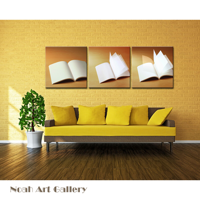 2016 Book Modern Wall Art Decorative Painting Canvas Print Artwork ...
